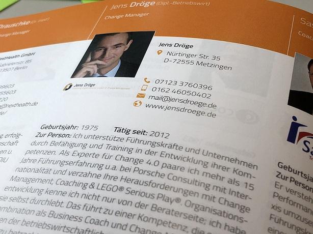 Jens Dröge | Weiterbildungsexperte 2019 | Ergebnisse mit Substanz | Trained LEGO SERIOUS PLAY Facilitator, Change Manager (SHB), Business Coach (SHB), Fomer Porsche Consultant.