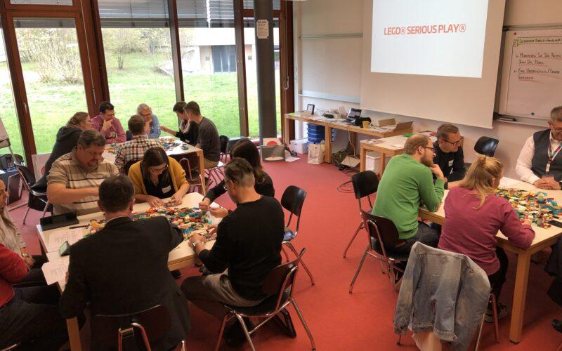 Vorbereitung auf den ersten Workshop - Jens Dröge LEGO Serious Play Ausbildung