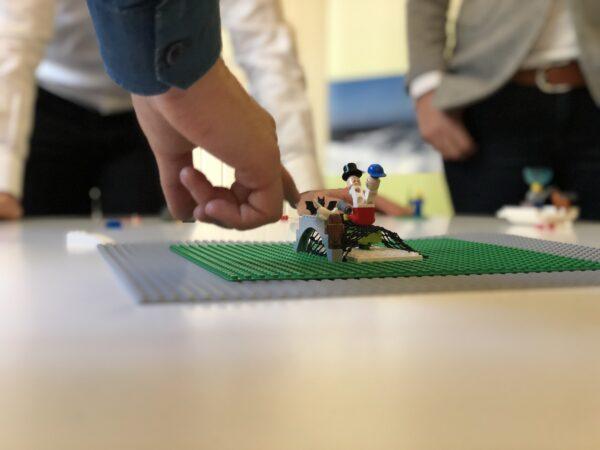 Reduziert auf Wesentliches - Jens Dröge LEGO Serious Play Ausbildung