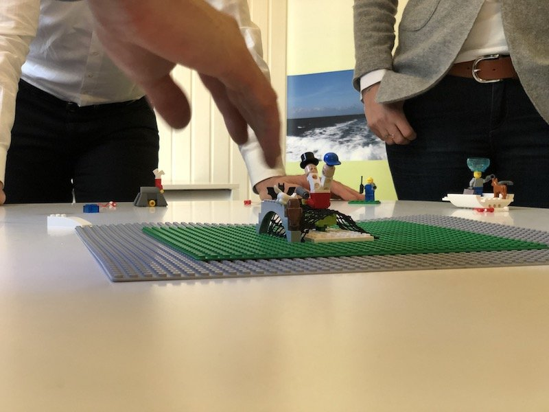 Teilnehmerbericht: Dieter Schmutz, Absolvent der LEGO SERIOUS PLAY-Ausbildung berichtet, wie er nach der Ausbildung eine Teamcharta moderiert hat.