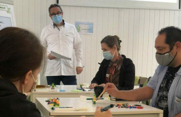 Du lernst zu moderieren von Anfang an - Jens Dröge LEGO Serious Play Ausbildung