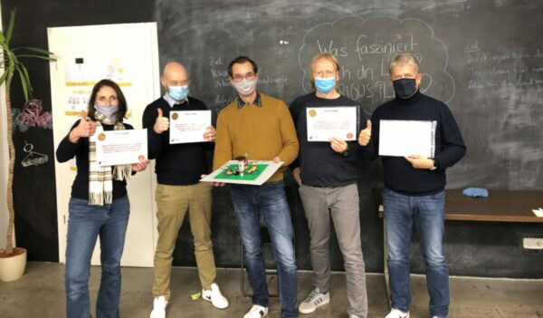 Ausbildung in Kleingruppen - Jens Dröge LEGO Serious Play Ausbildung