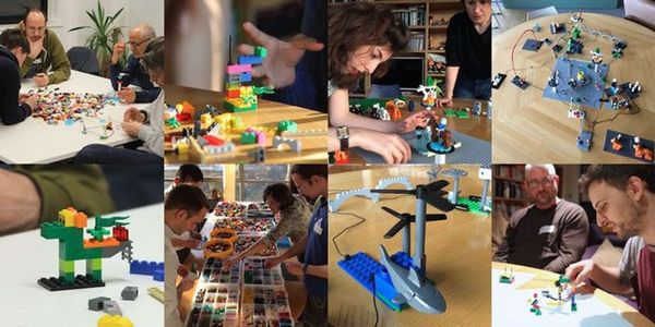 """LEGO SERIOUS PLAY Demoworkshop ink. Buch """"SERIOUSWORK"""""""