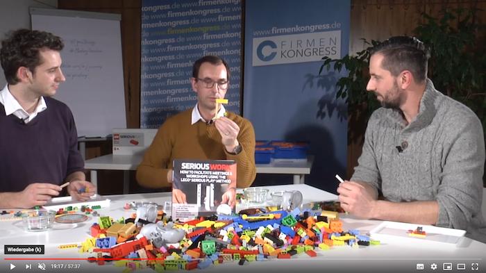 Beim online Firmenkongress gibt Jens Dröge als einer von 45 Top-Speakern eine Live-Einführung zum Mittmachen in LEGO Serious Play und ein Interview.
