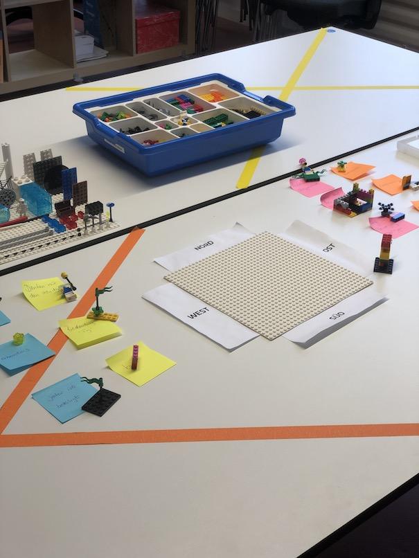 """LEGO Serious Play Bricks for Sanity: Gemeinsames Modell Corona-Sicher: online LEGO Serious Play durch """"Magic Hands"""" in die """"echte Welt"""" übertragen"""