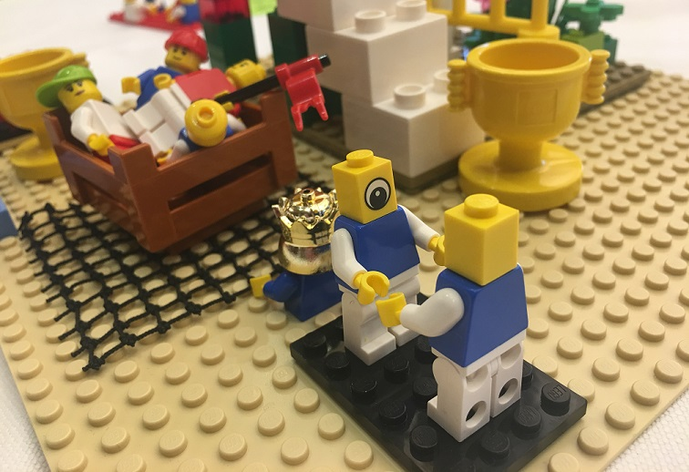 Strategieworkshop mit LEGO SERIOUS PLAY: 35 internationale Führungskräfte erarbeiten Wachstumsstrategie - Fallstudie von Jens Dröge
