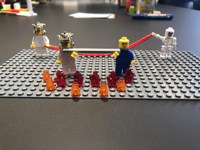 LEGO Serious Play Fragen: Kleine Unterschiede in der Formulierung können große Auswirkungen auf das Ergebnis haben. Was tun, damit das Ergebnis passt?