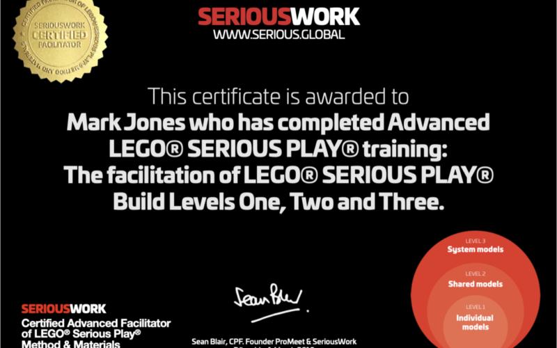 LEGO Serious Play Systemmodelle: Ausbildung für Profis
