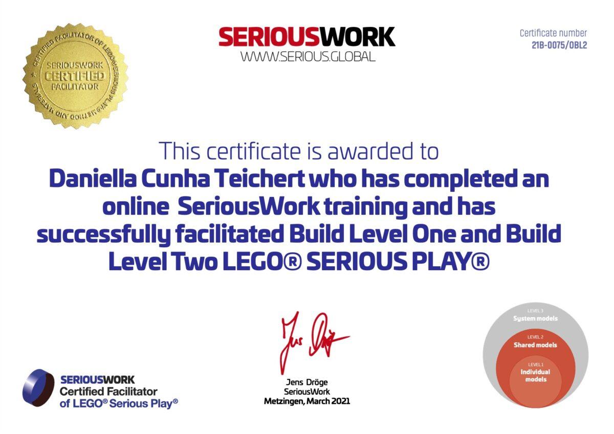 LEGO Serious Play Zertifizierung